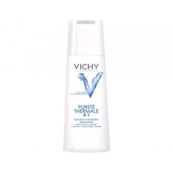 VICHY Solución micelar 3 en 1 limpiadora piel sensible 200 ml