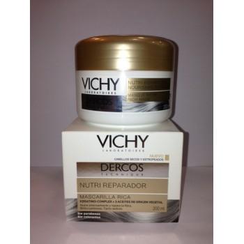 VICHY Dercos Nutri-reparador mascarilla rica 200 ml