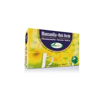SORIA NATURAL Manzanilla con anis infusión 20 filtros