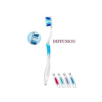 ELGYDIUM Cepillo dental diffusion duro