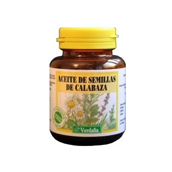 VERDALIA Aceite de semillas de calabaza 100 cápsulas