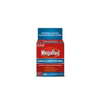 MEGARED Omega 3 Aceite de Krill 20 cápsulas