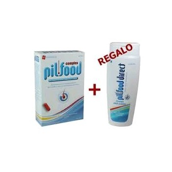 PILFOOD Complex Cabello y Uñas Pack 60 comp+champú 100ml