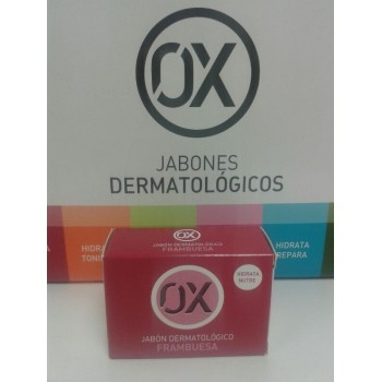 OX Jabón dermatólogico Frambuesa 100gr