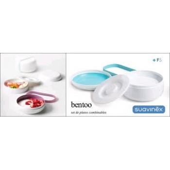 SUAVINEX Set de platos Bentoo