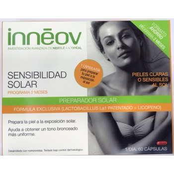 INNEOV Sensibilidad solar tratamiento para 2 meses