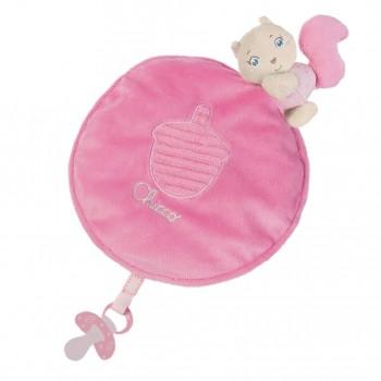 CHICCO Soft Cuddles Mantita Rosa