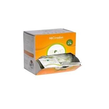 MYCONATUR Stevia Edulcorante 80 sobres