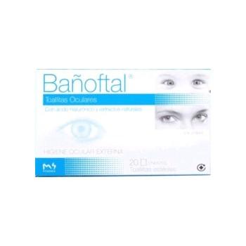 BAÑOFTAL Toallitas Oculares Esteriles 20uds