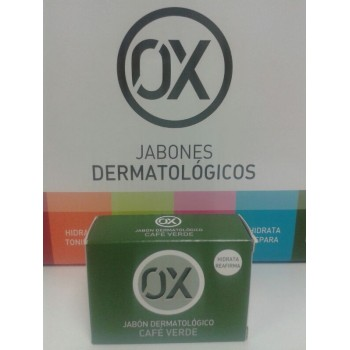 OX Jabón dermatólogico Café Verde 100gr
