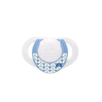 CHICCO Chupete Compact Latex 0-6m Azul 1u