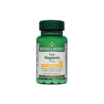 N BOUNTY Magnesio 250 mg 100compr