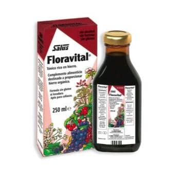 FLORAVITAL Jarabe hierro+vitaminas s/gluten 250ml