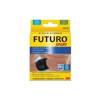 FUTURO Muñequera ajustable NEGRA talla única
