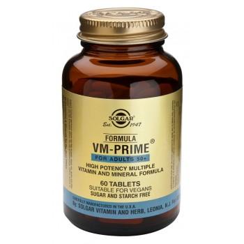 SOLGAR Formula VM-Prime Adultos 50+ 60 comprimidos