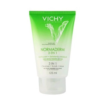 VICHY Normaderm 3 en 1 exfoliante+limpiador+mascarilla 125ml