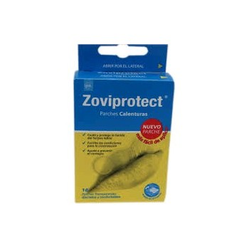 ZOVIPROTECT Parches calenturas 16 uds