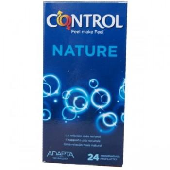 CONTROL Nature preservativos 24 uds