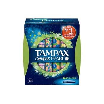 TAMPAX Compak Pearl Super 22 uds