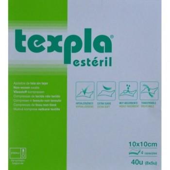 TEXPLA Apositos de tela sin tejer 10 x 10cm 40uds