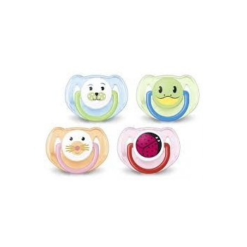 AVENT Chupete Animales 6-18m