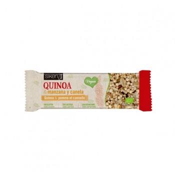 SIKEN FORM Barrita Quinoa Manzana y Canela Bio 40g