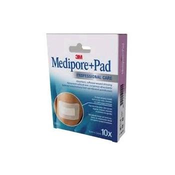 3M MEDIPORE Pad 5cm X 7cm 10uds