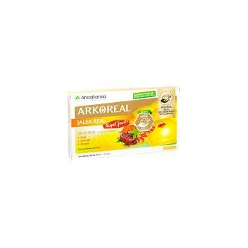 ARKOREAL Jalea Real 1000+Royal Fruits 20 ampollas