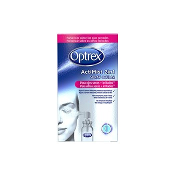 OPTREX Actimist 2en1 Ojos secos e irritados spray 10ml