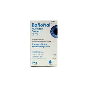 BAÑOFTAL Colirio Multidosis Ojo seco 0,4% 10ml