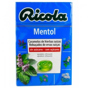 RICOLA Caramelos de mentol 50g