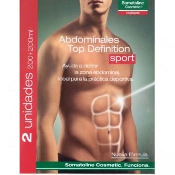 SOMATOLINE Hombre Abdominales Top Defintion Sport 200ml DUPLO