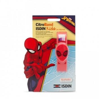 ISDIN CitroBand kIDS Pulsera antimosquitos SPIDER-MAN