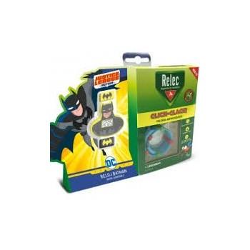 RELEC Click-Clack Pulsera antimosquitos batman 2 recargas