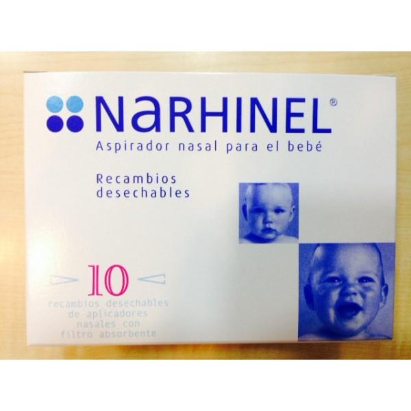 NARHINEL Recambios aspirador nasal 10 und
