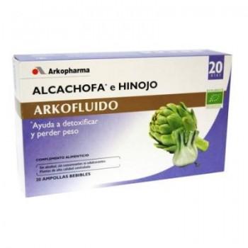 ARKOFLUIDO Alcachofa con hinojo 20 ampollas