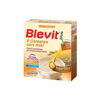 BLEVIT Plus 8 cereales miel super fibra 600g