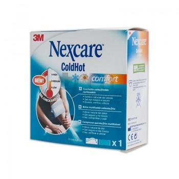 NEXCARE Coldhot Comfort bolsa de gel frío-calor con indicador