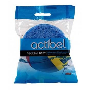 ACTIBEL Baby esponja vegetal 2 uds