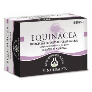 EL NATURALISTA Equinacea + vitamina C 60 cápsulas