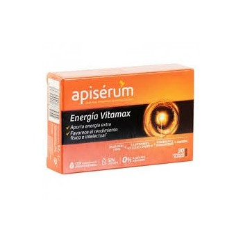 APISERUM Energía Vitamax 30...