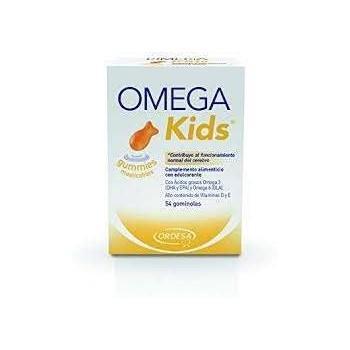 ORDESA OMEGA Kids 54 gominolas