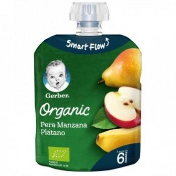 GERBER Organic Pouch Pera...